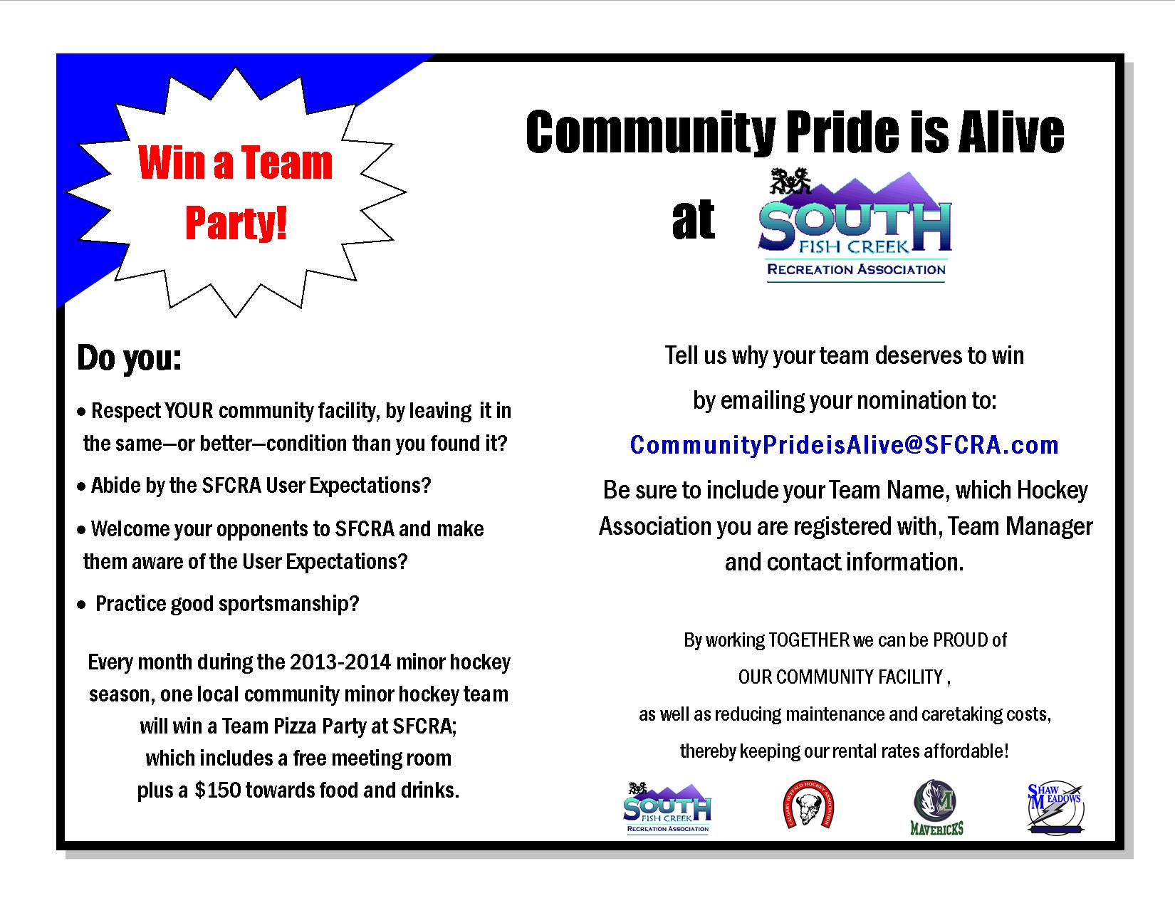 Community Pride is Alive - 2013